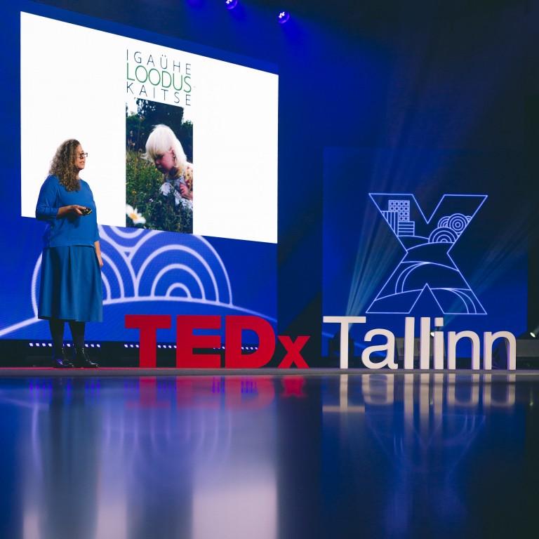 Aveliina in TedxTallinn 2020